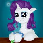 rarity_with_tea_cup_by_salahir-d5sxo80