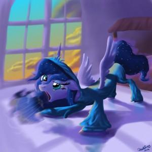 Kallisti IV: Royal Canterlot Yawn by DeathPwny
