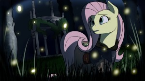 Fluttershy's Dark Soul by Acesential