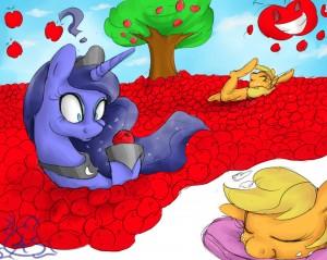 Dreaming of Apples by AquaticSun